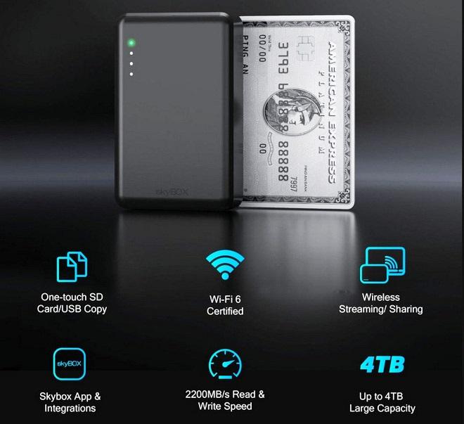 SSD skybox