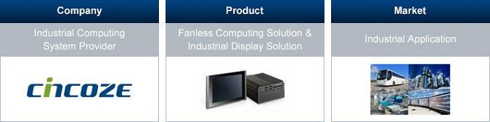 điện toán công nghiệp Cincoze