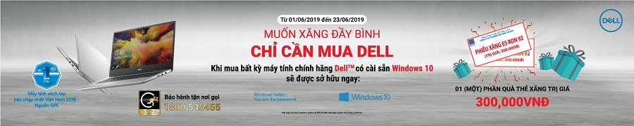 Khuyến mại Dell - windows