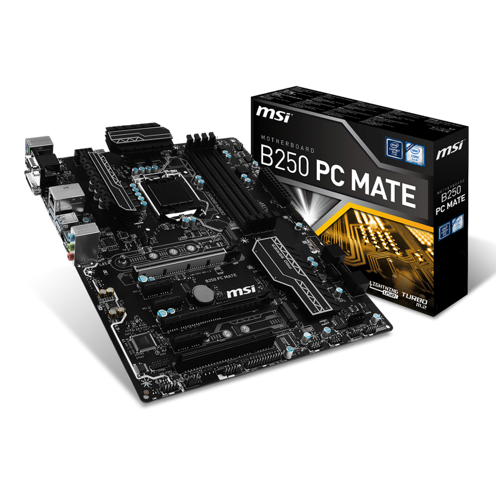 Mainboard_MSI_B250_PC_MATE_Socket_1151
