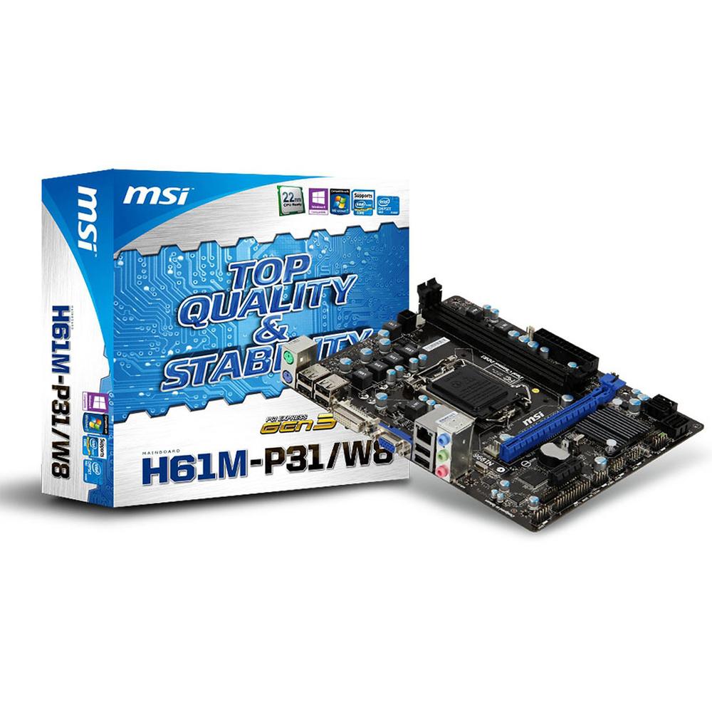 Mainboard_MSI_H61M-P31_W8