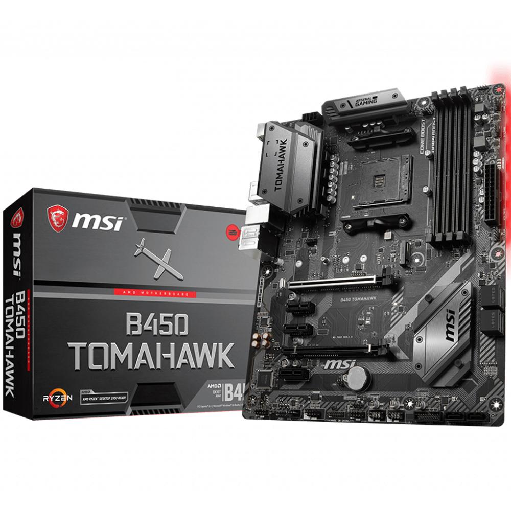 Mainboard_Msi_B450_Tomahawk