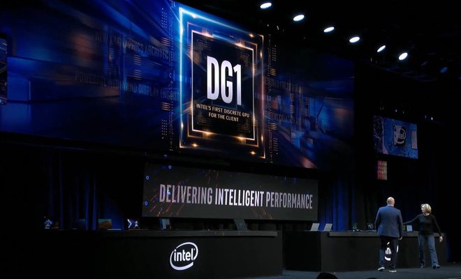 card đồ họa rời intel DG1